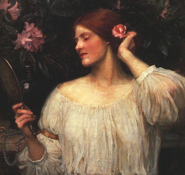 Vanity :: John William Waterhouse - Allegory in art and painting ôîòî