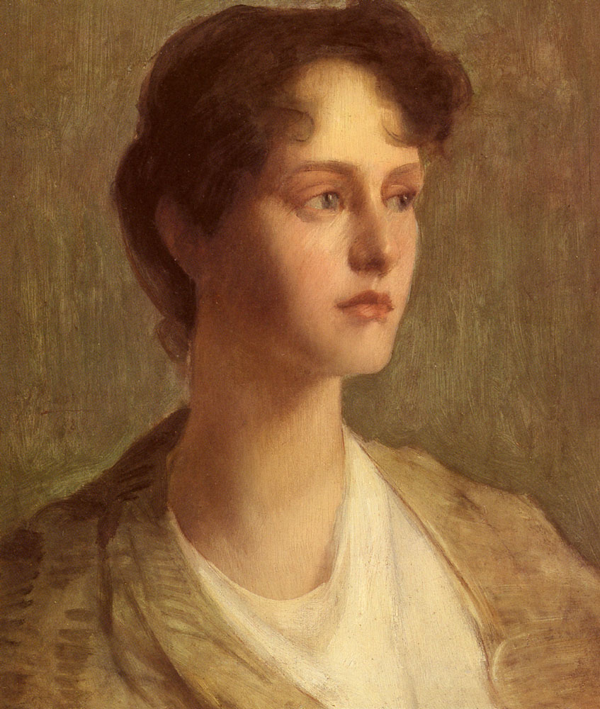 Ideal Head :: Julian Alden Weir - 8 female portraits hall ôîòî