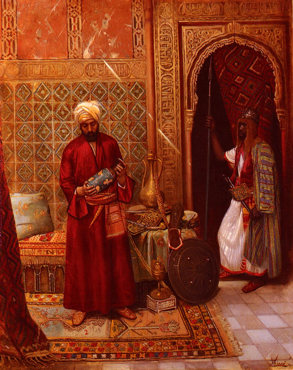The New Acquisition :: Rudolphe Weisse - scenes of Oriental life (Orientalism) in art and painting ôîòî