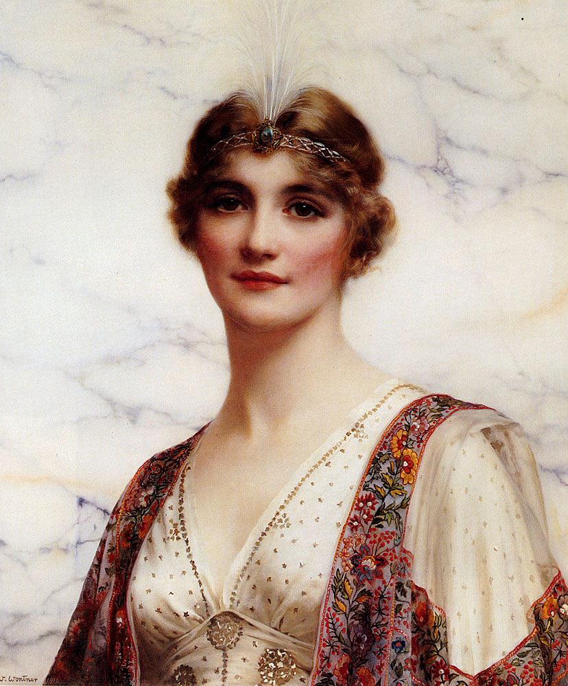 The Fair Persian :: William Clarke Wontner - Young beauties portraits in art and painting ôîòî