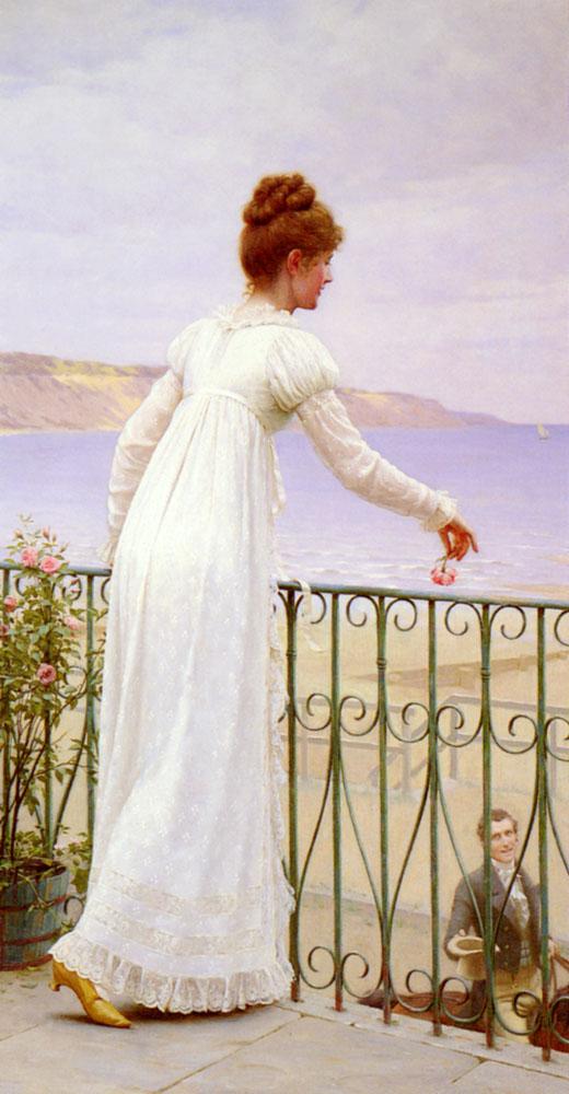 A Favour :: Edmund Blair Leighton - Romantic scenes in art and painting ôîòî