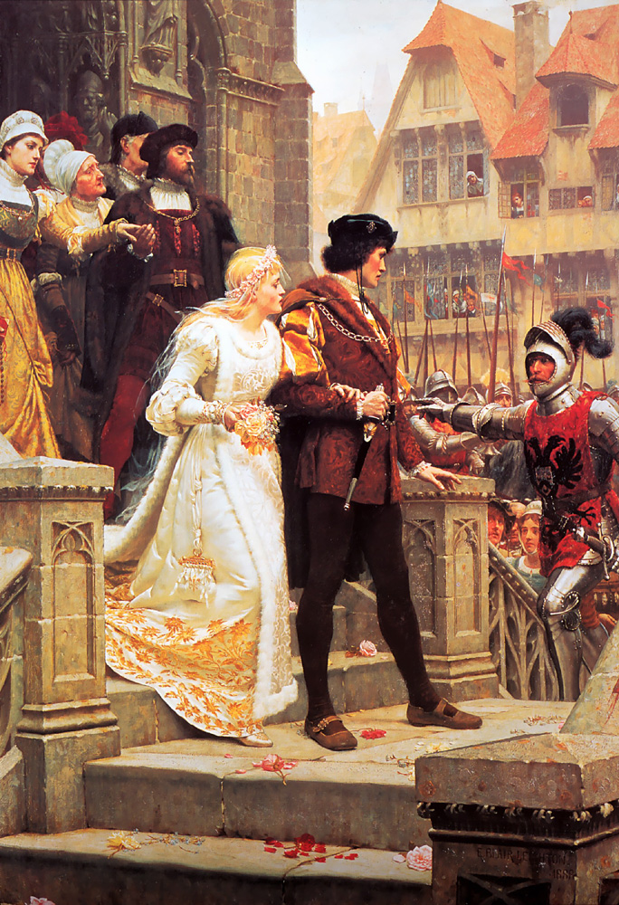 Call to Arms :: Edmund Blair Leighton - Wedding scenes ôîòî