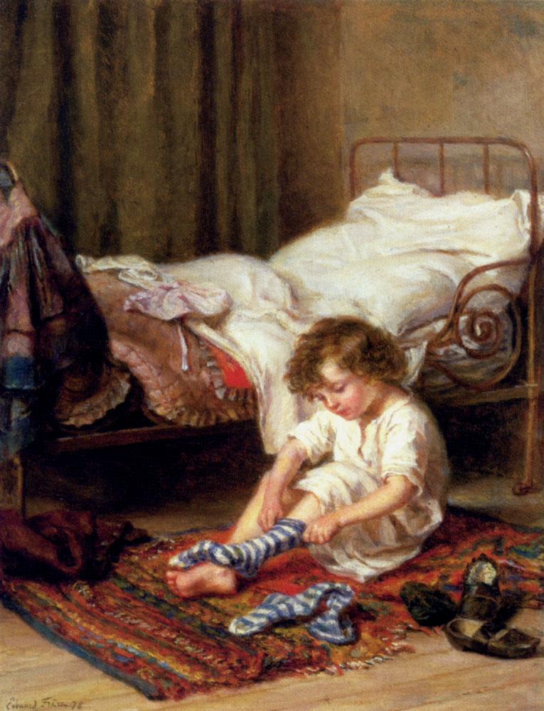 Getting Up :: Edouard Frere - user art painting gallery ôîòî