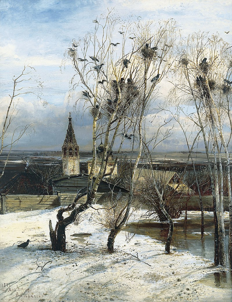 In the Tretyakov Gallery opened an exhibition of paintings by Savrasov - user art painting gallery ôîòî