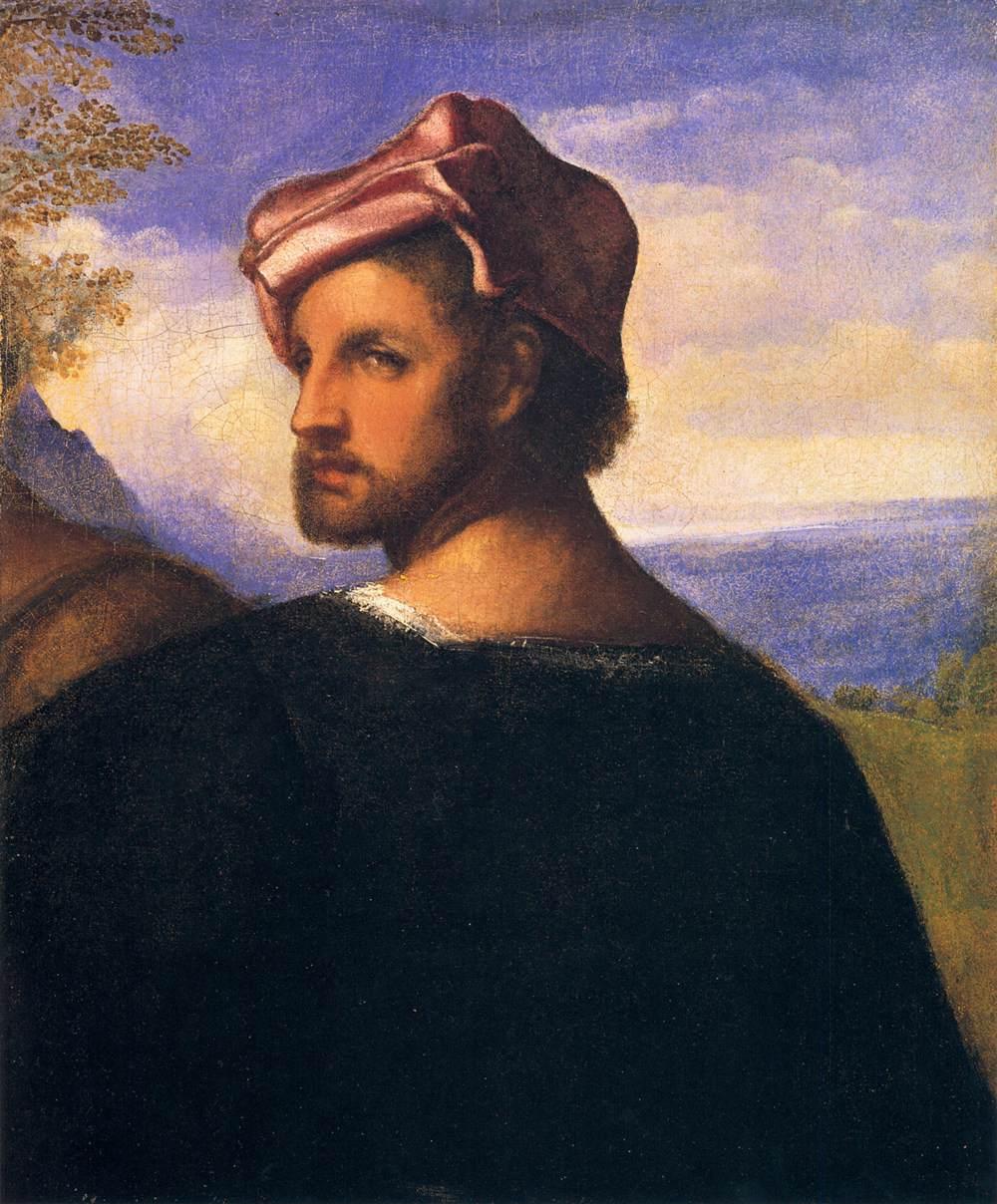 Head of a Man - men's portraits 16th century ôîòî