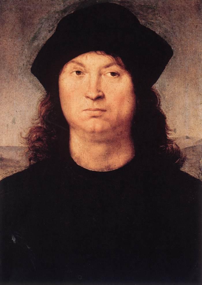 Portrait of a Man - men's portraits 15th century hall ôîòî