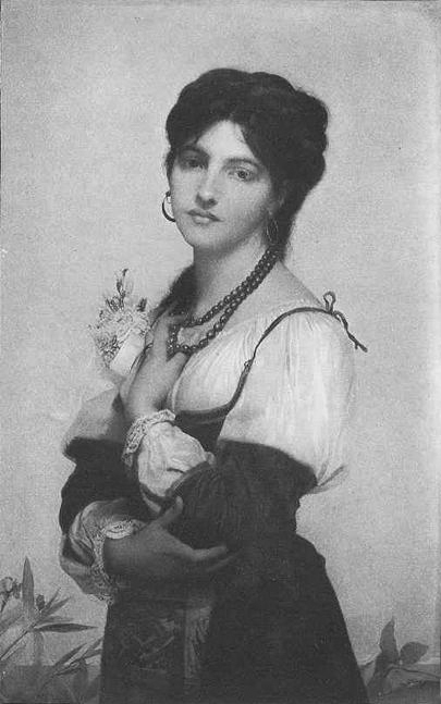 A Bride of Sorrento :: Jules Joseph Lefebvre - 7 female portraits ( the end of 19 centuries ) in art and painting ôîòî