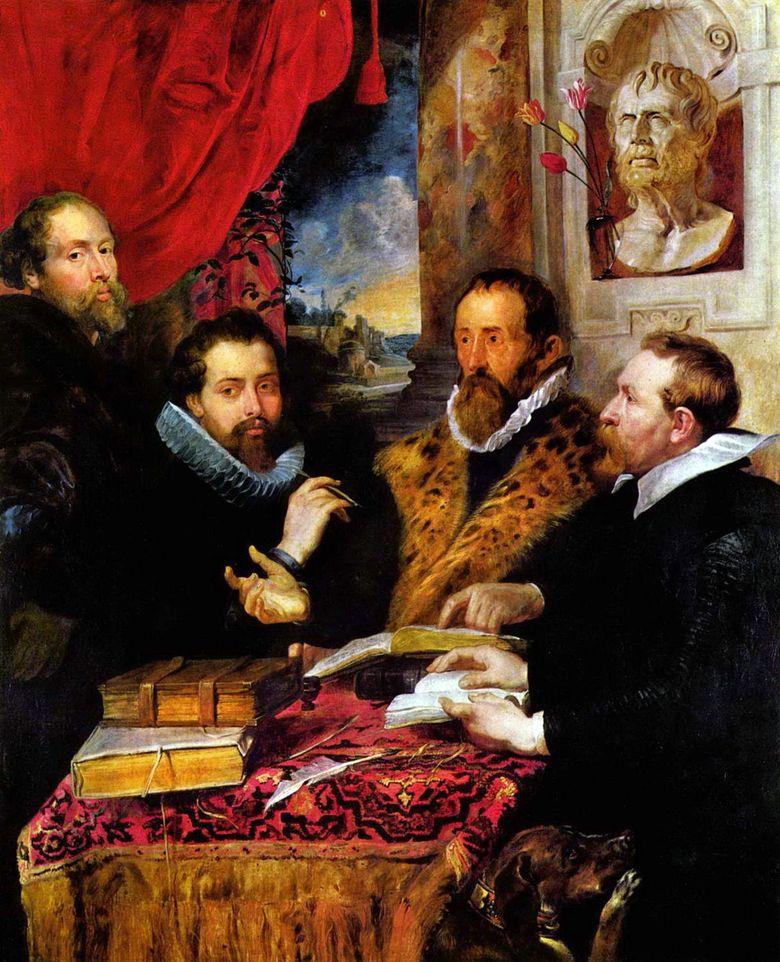 """The Four Philosophers"" :: Peter Rubens - men's portraits ôîòî"