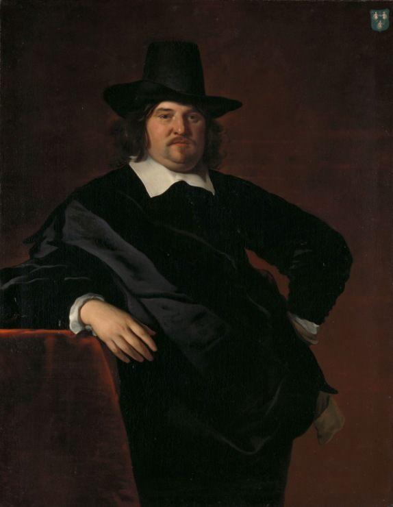 Amsterdam merchant and director of the Dutch West India Company :: Abraham de Visscher  - men's portraits 17th century ôîòî