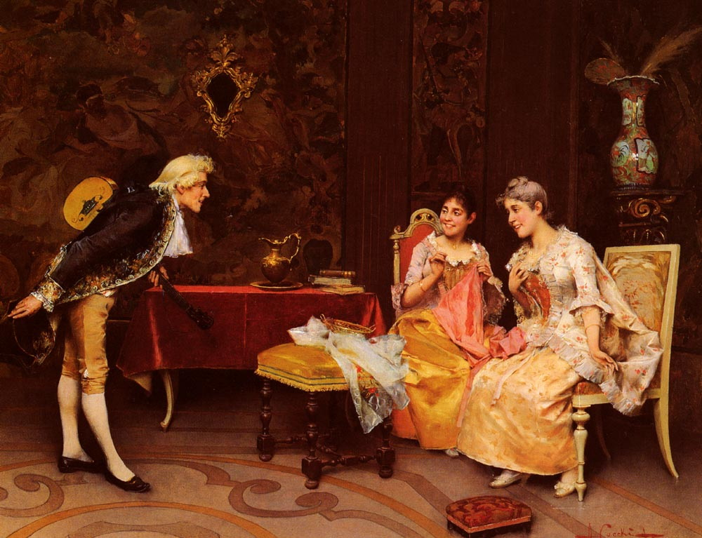 Taking A Bow :: Adriano Cecchi - Romantic scenes in art and painting ôîòî