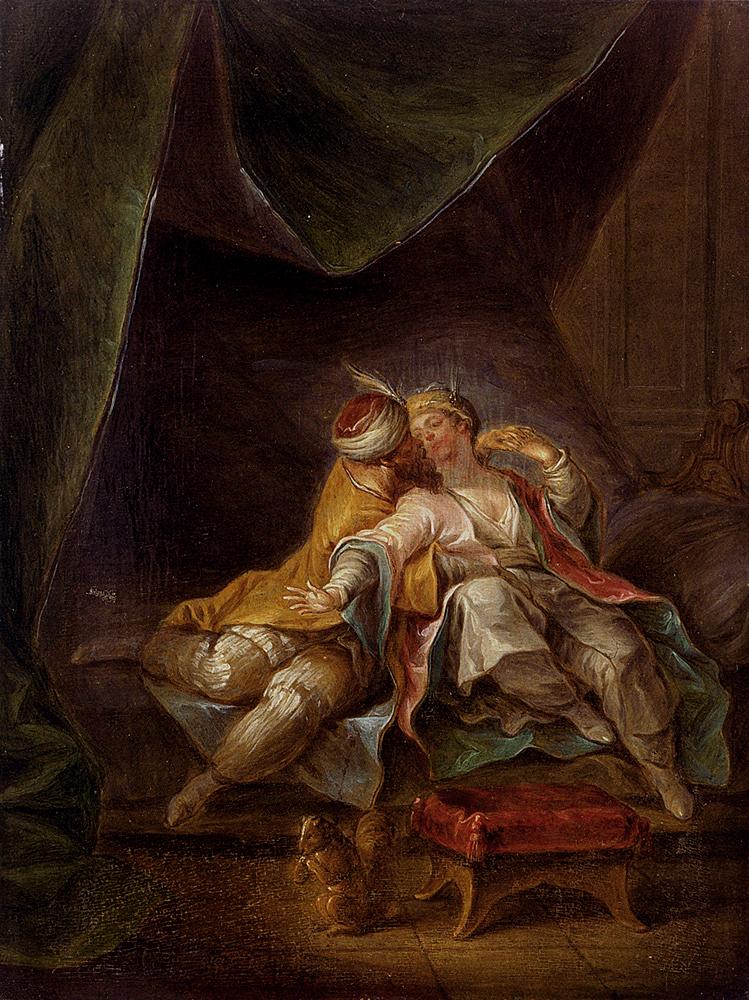 La Sultane Favorite :: Francois Eisen - Romantic scenes in art and painting ôîòî