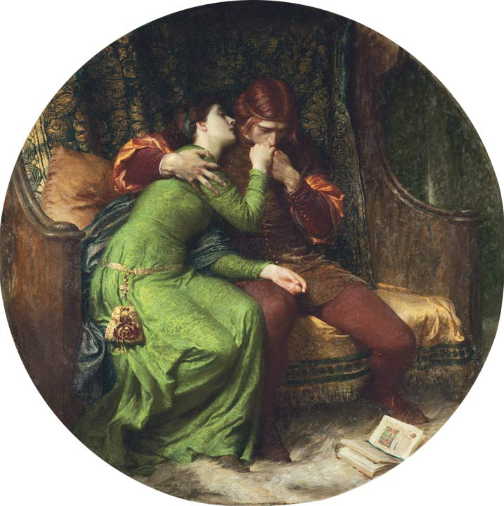 Paolo and Francesca :: Frank Dicksee - Romantic scenes in art and painting ôîòî