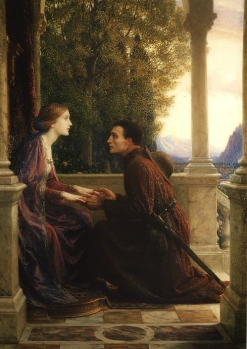 The End of the Quest :: Frank Dicksee - Romantic scenes in art and painting ôîòî