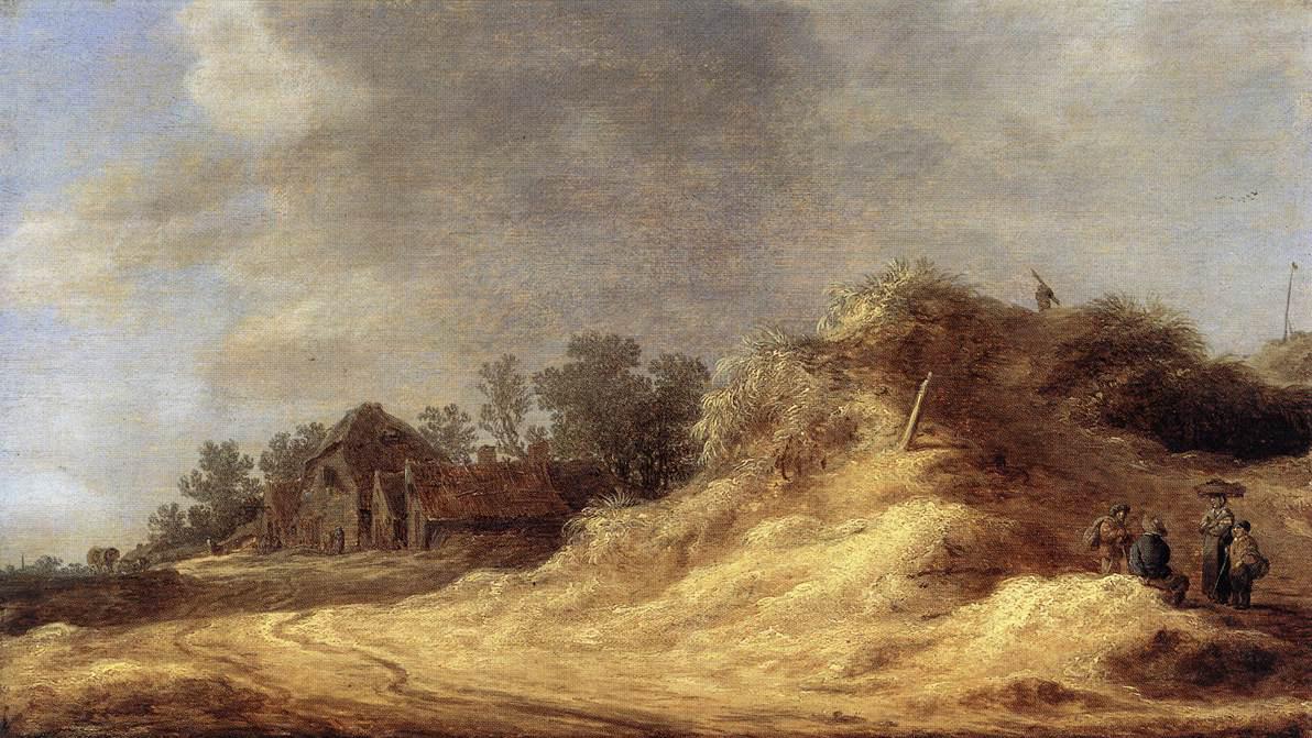 Dunes :: Jan van Goyen - Village life ôîòî