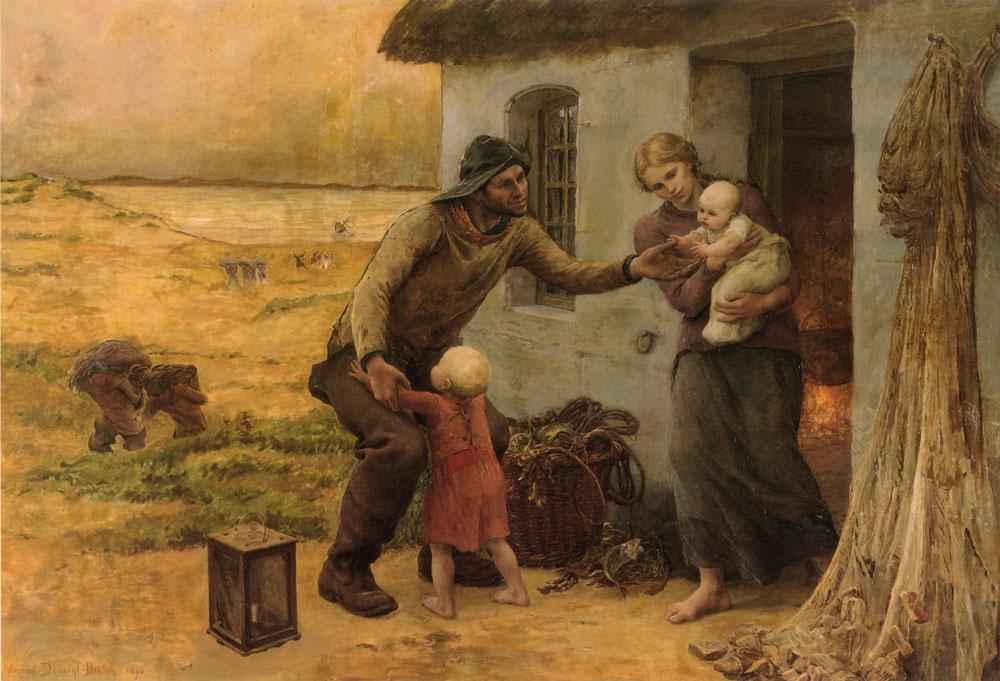 Le Foyer :: Virginie Demont-Breton - Village life ôîòî