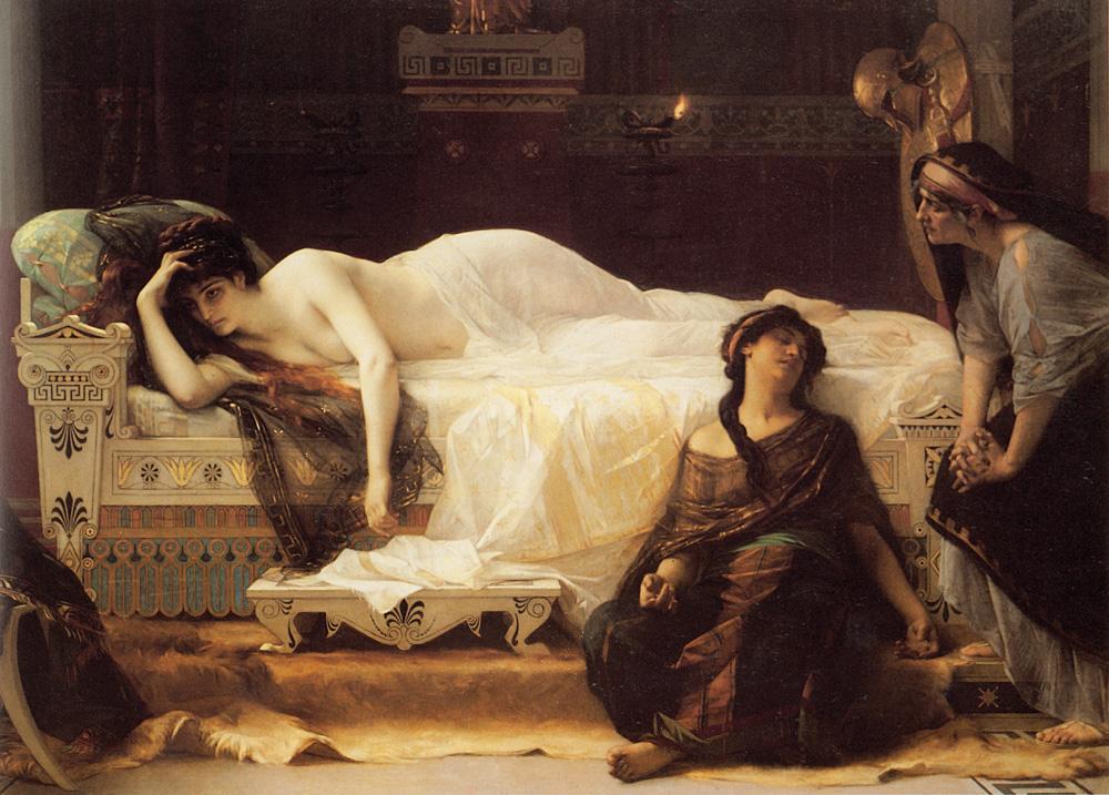 Phaedra :: Alexandre Cabanel - mythology and poetry ôîòî
