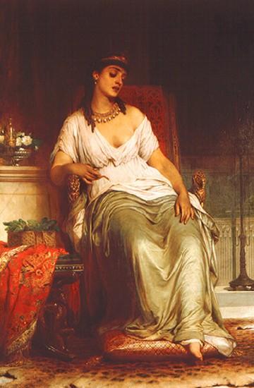 Cleopatra :: Frank Dicksee  - Antique world scenes ôîòî