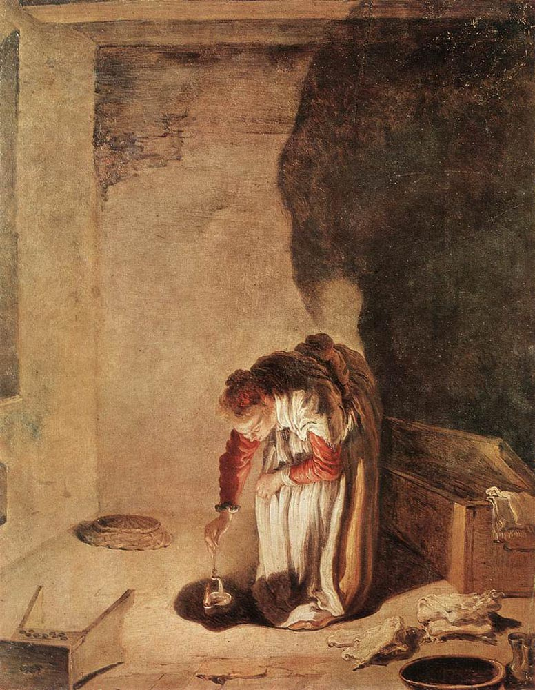 Parable of the Lost Drachma :: Domenico Feti - Interiors in art and painting ôîòî