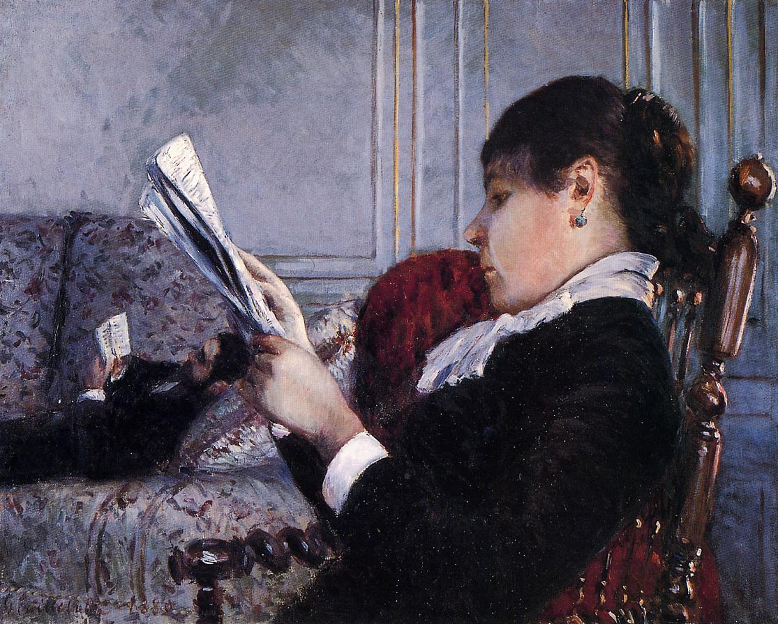 Interior :: Gustave Caillebotte - Interiors in art and painting ôîòî