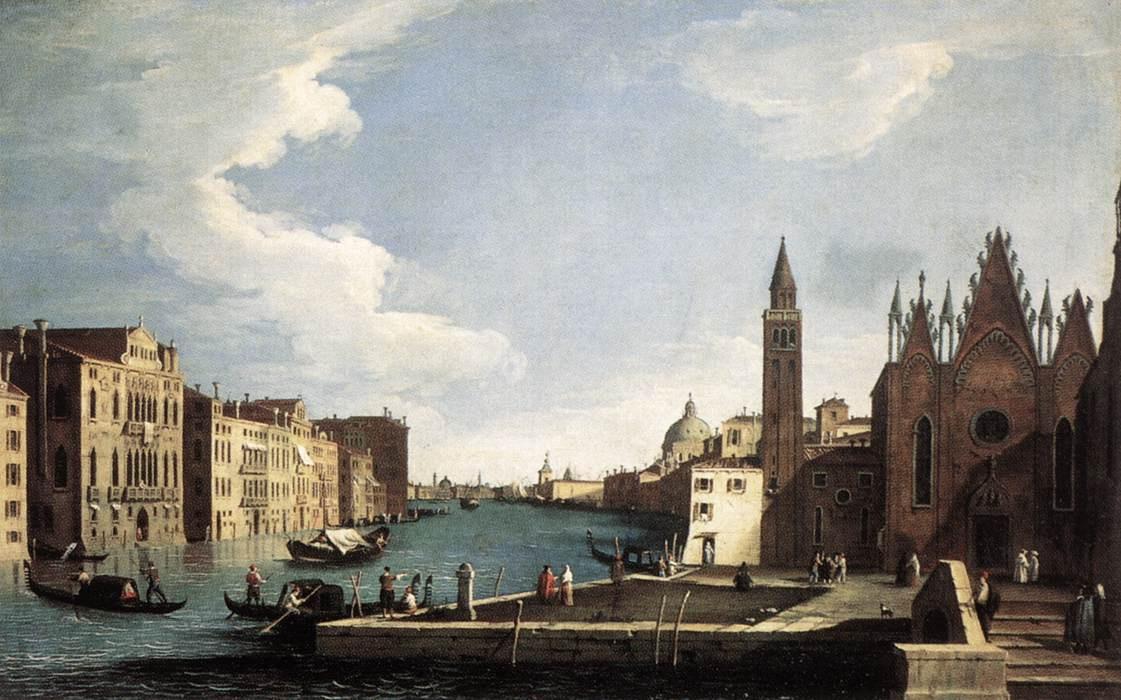 The Grand Canal with the Church of La Caritа :: Bernardo Canal - Venice ôîòî