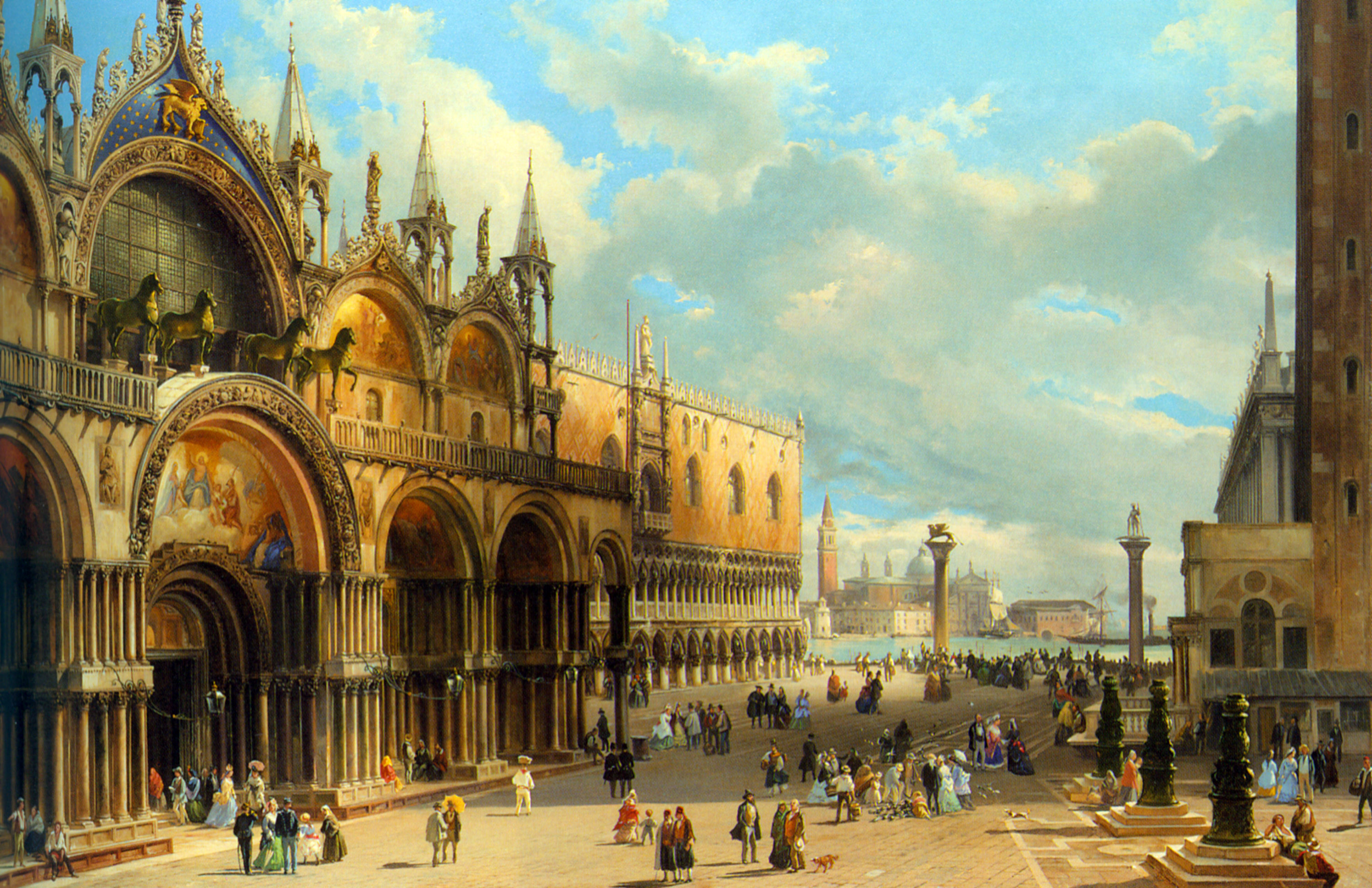 St marks and the doges palace venice carlo grubacs for Architecture venise