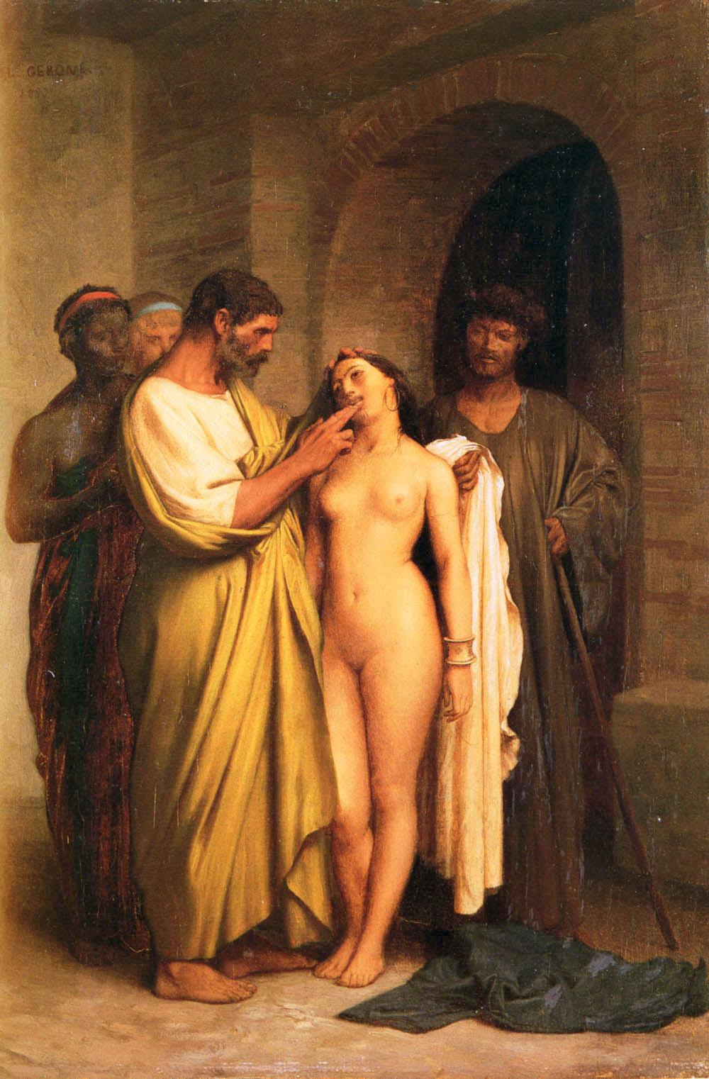 Purchase Of A Slave :: Jean-Leon Gerome - Antique world scenes ôîòî