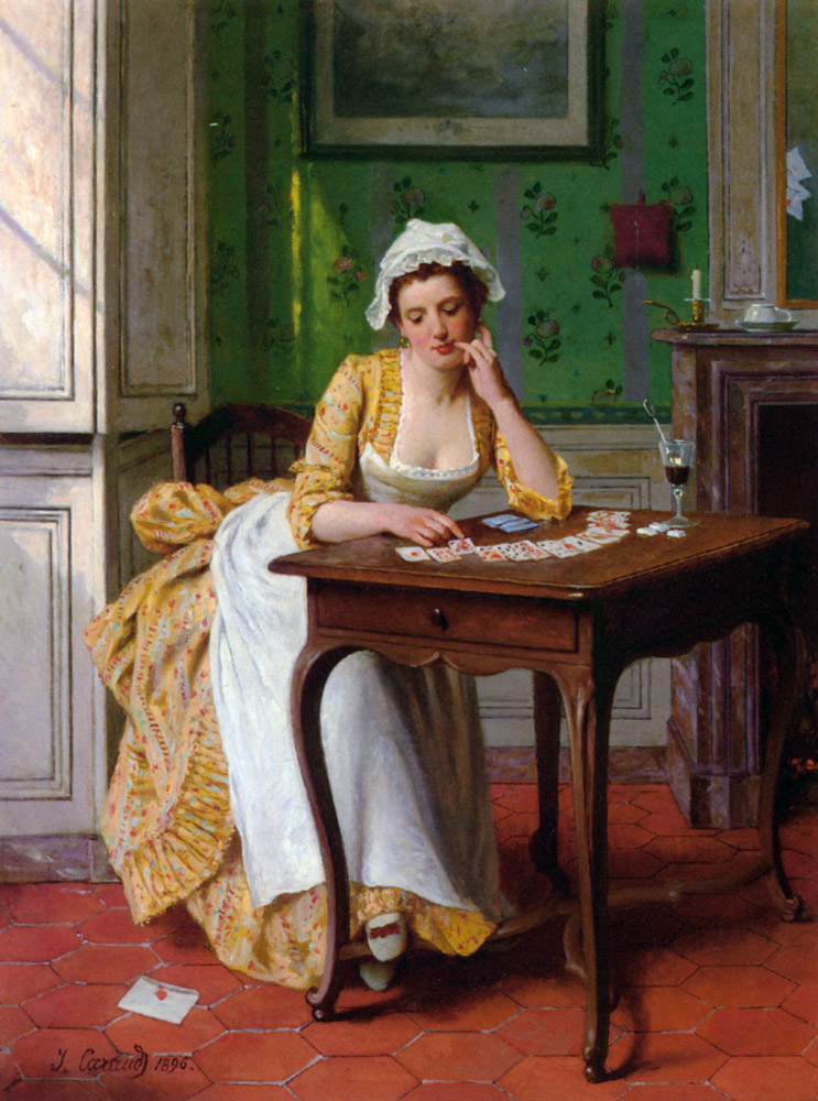 The success :: Joseph Caraud - Interiors in art and painting ôîòî