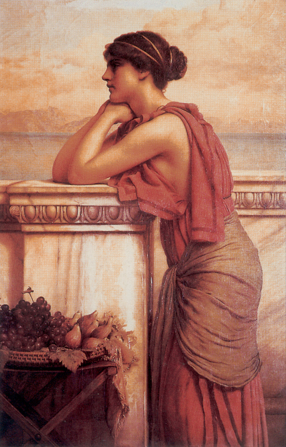 By the Wayside :: John William Godward - Antique world scenes ôîòî