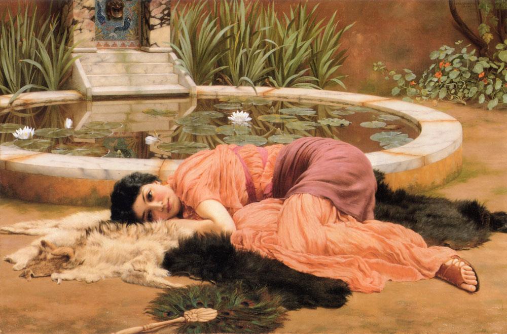 Sweet Nothings :: John William Godward - Antique world scenes ôîòî