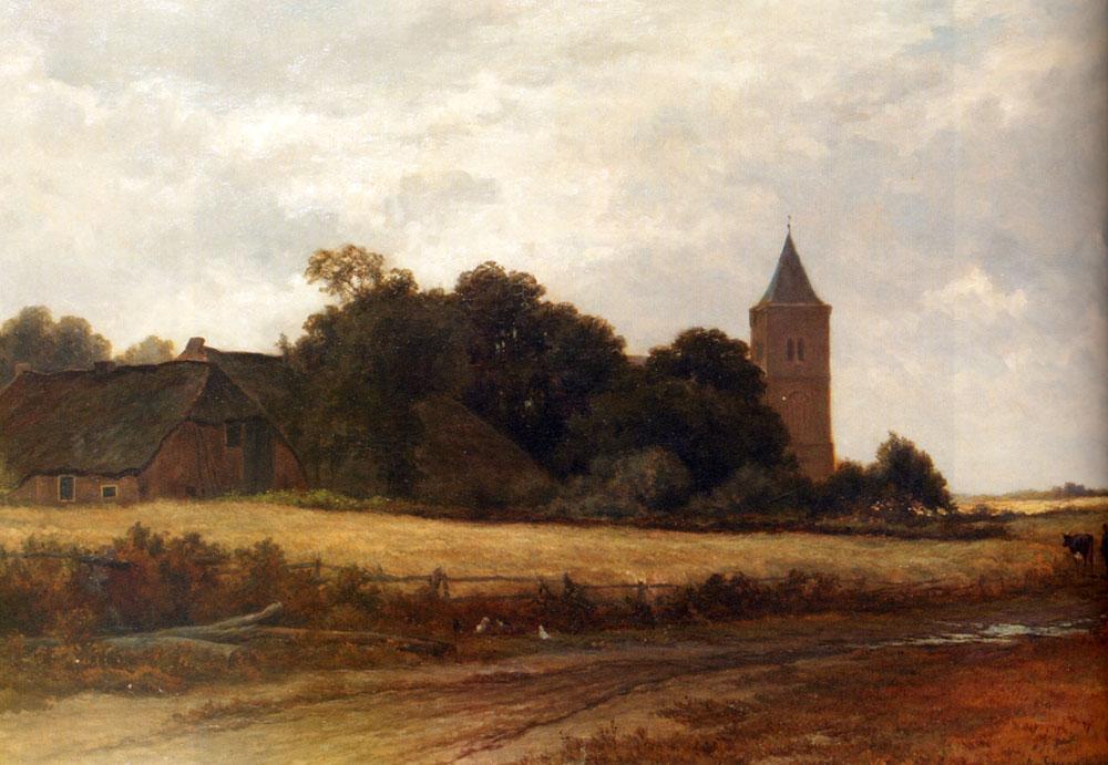 Landscape with road and the house - Landscapes ôîòî