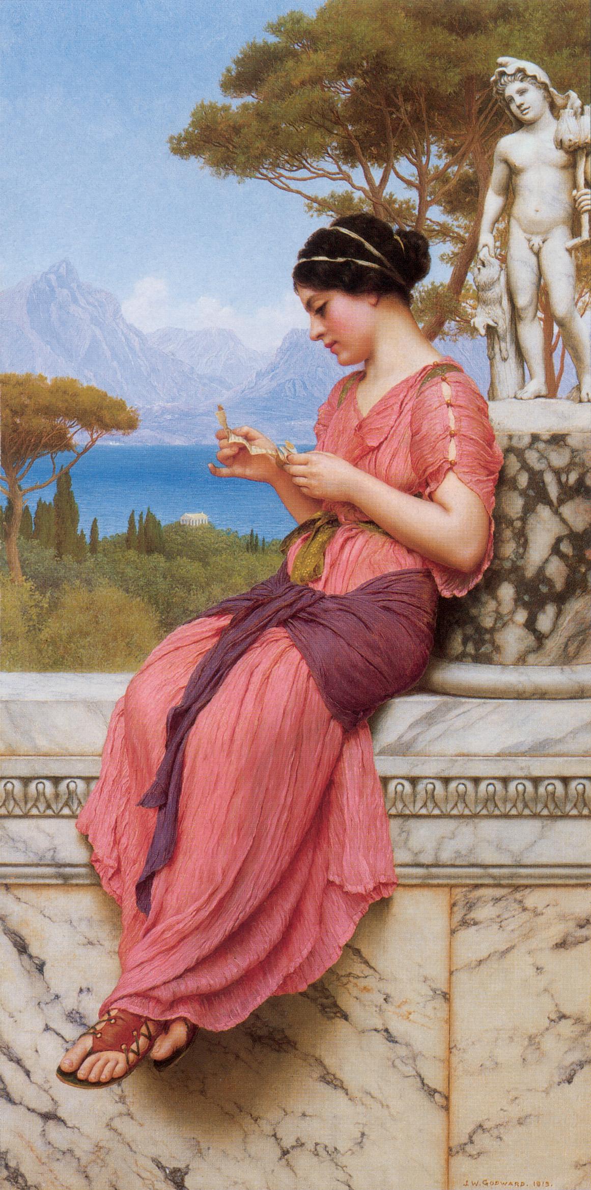 The Love Letter :: John William Godward - Antique world scenes ôîòî