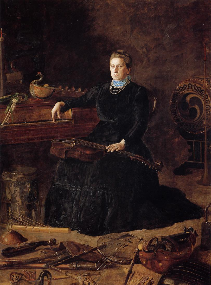 Antiquated Music :: Thomas Eakins - Interiors in art and painting ôîòî