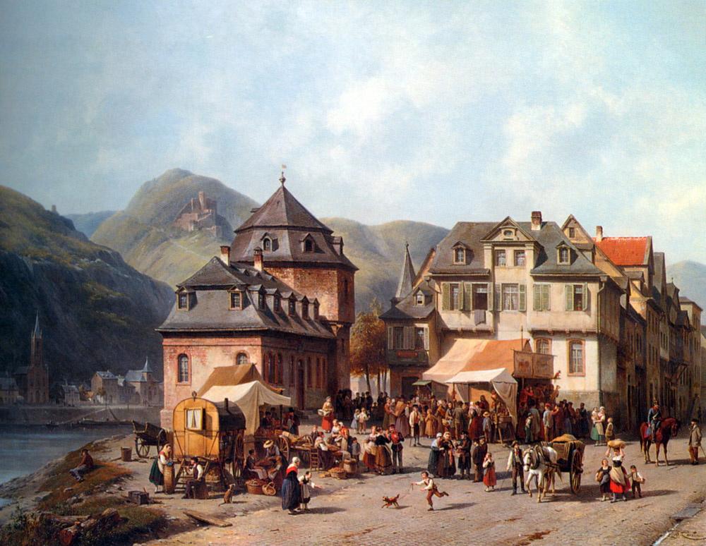 St. Goar am Rhein :: Jacques Carabain - Architecture ôîòî