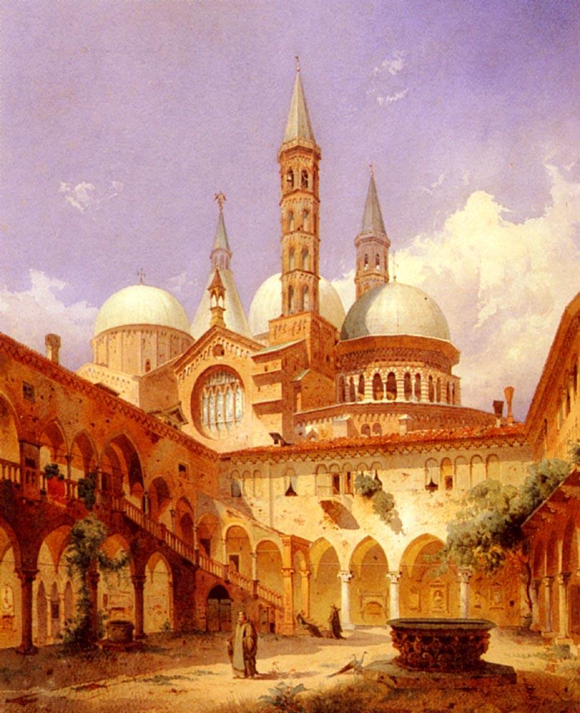 Scene Before A Mosque :: Louis Frey A Street - Architecture ôîòî