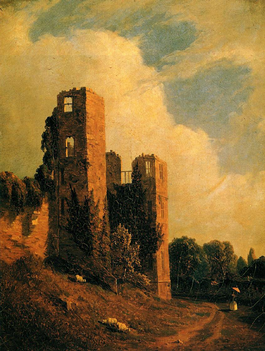 Kenilworth Castle :: Sanford Robinson Gifford - Architecture ôîòî