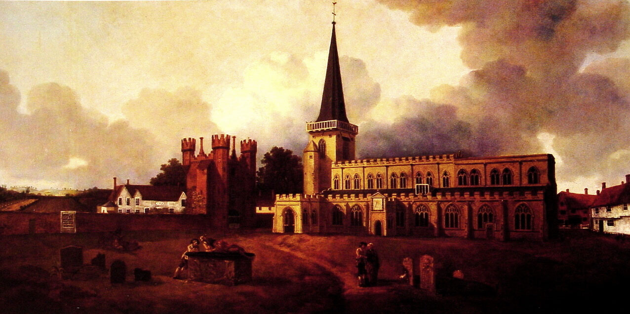 St. Mary s Church, Hadleigh :: Thomas Gainsborough - Architecture ôîòî