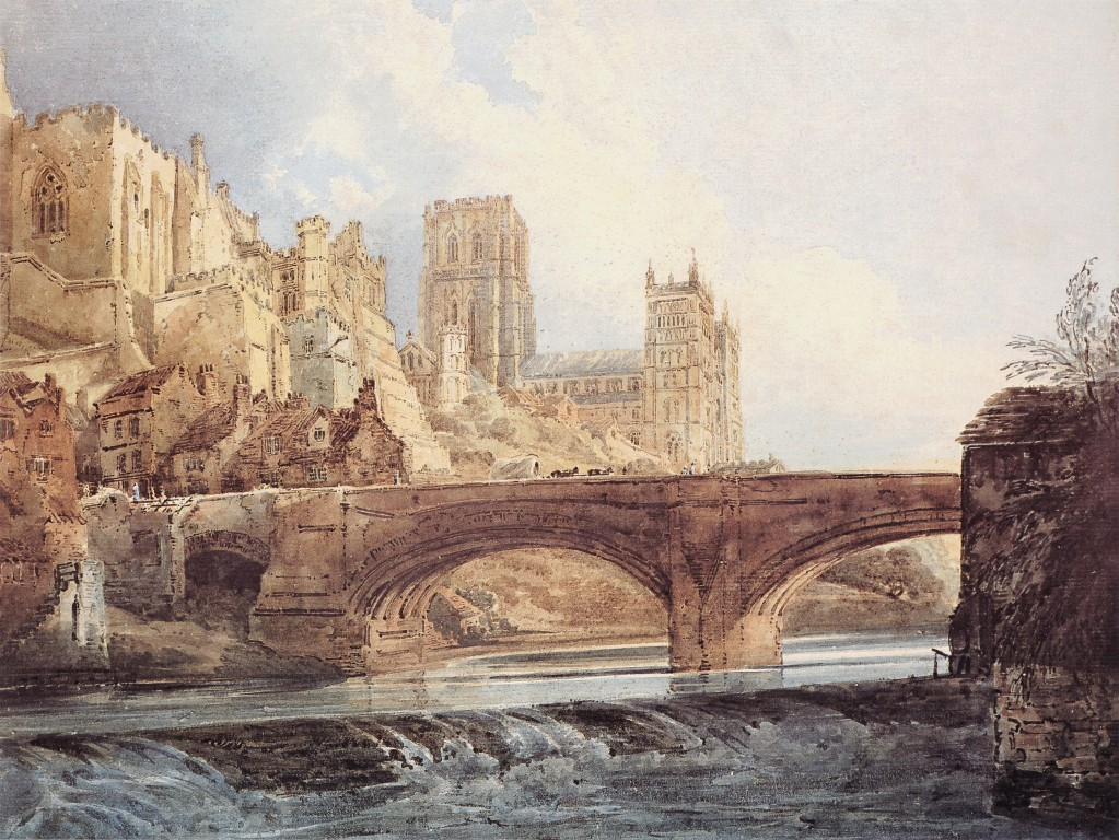 Durham Cathedral and Castle :: Thomas Girtin  - Architecture ôîòî