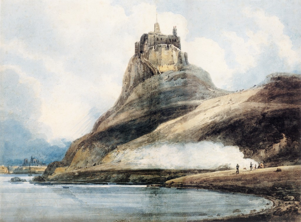 Lindisfarne Castle, Holy Island :: Thomas Girtin - Architecture ôîòî
