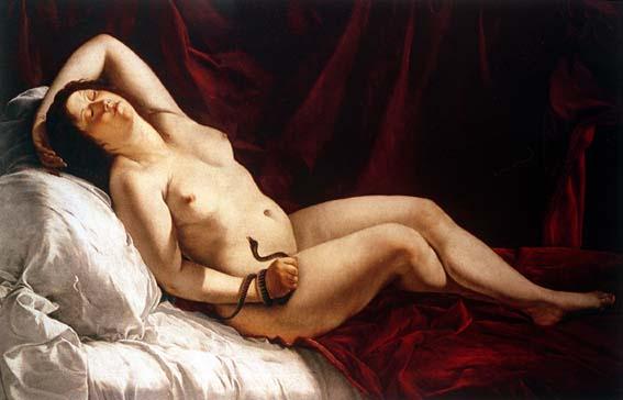 Cleopatra :: Orazio Gentleschi - Antique world scenes ôîòî