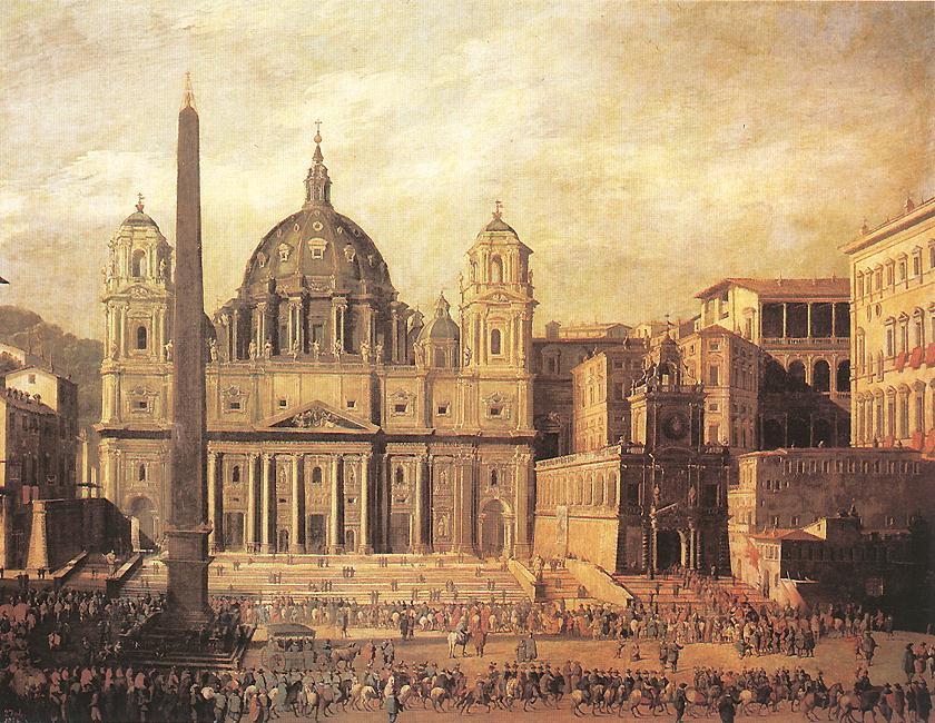 St Peters, Rome :: Viviano Codazzi - Architecture ôîòî