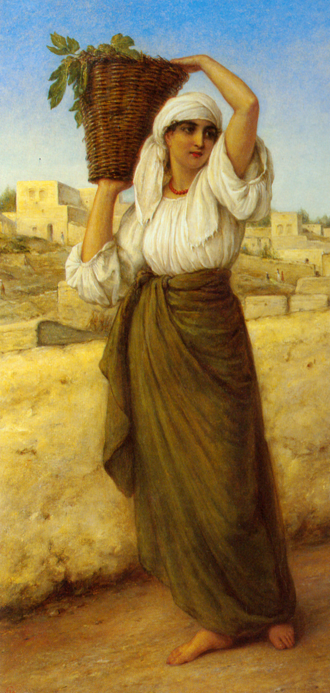 A Nazareth Fig Seller :: William Gale - Antique world scenes ôîòî