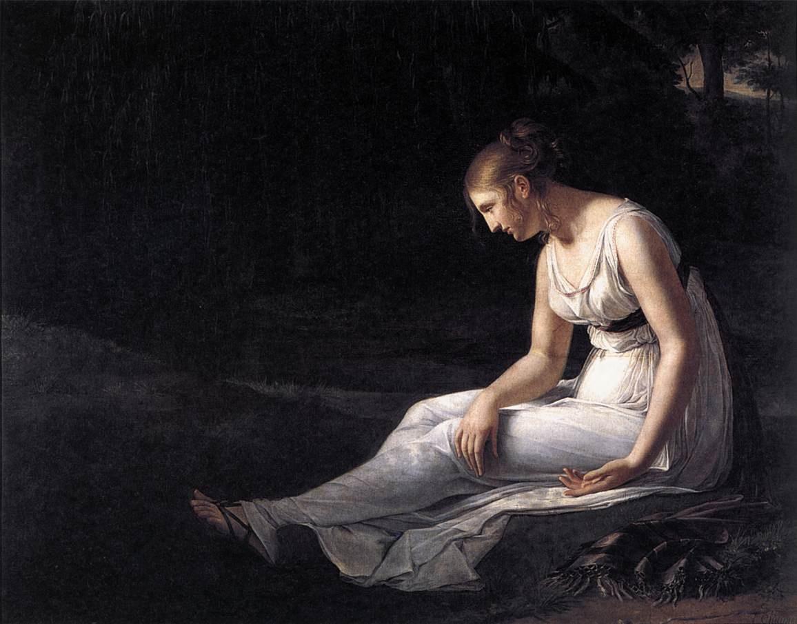 Melancholy  :: Constance Marie Charpentier - 5 women portraits ( the beginning of 19 centuries ) ôîòî