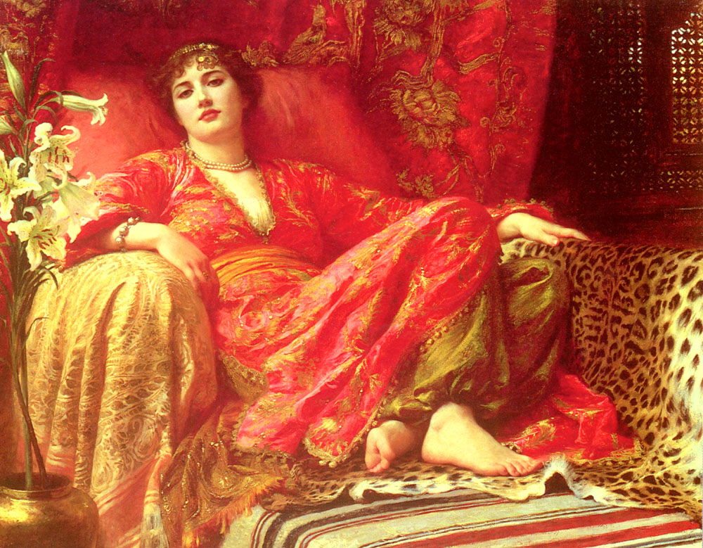 Passion :: Frank Dicksee - 7 female portraits ( the end of 19 centuries ) in art and painting ôîòî