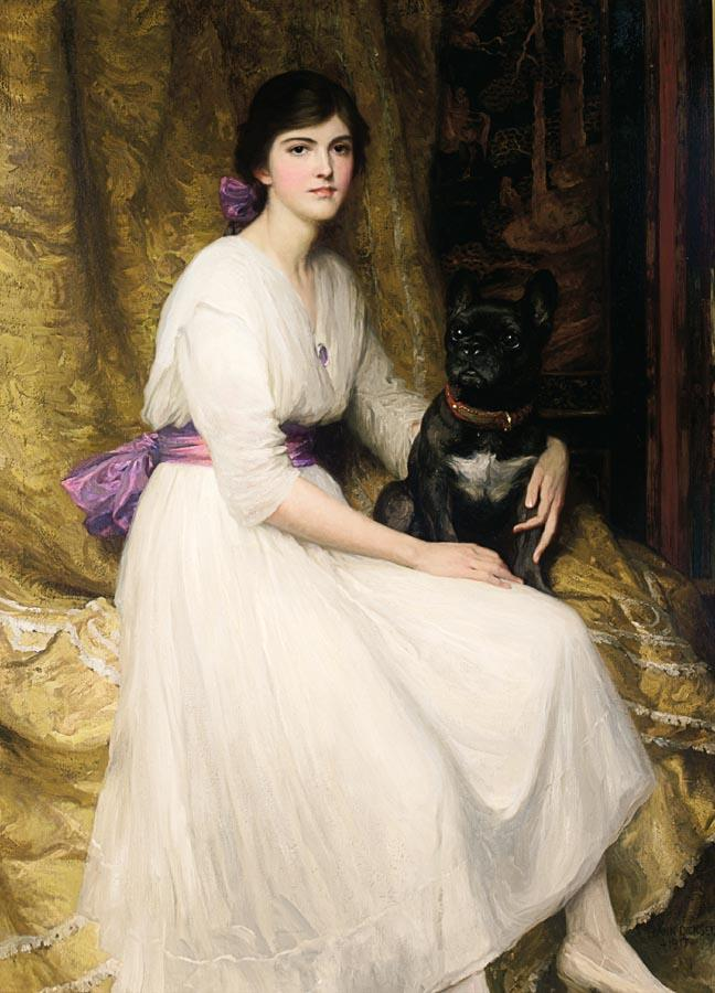 Portrait of the Artist's Niece, Dorothy :: Frank Dicksee - 7 female portraits ( the end of 19 centuries ) in art and painting ôîòî