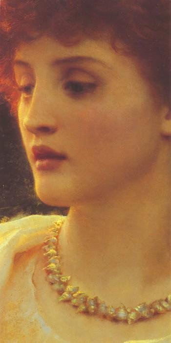 Sylvia [detail] :: Sir Frank Bernard Dicksee - Antique beauties in art and painting ôîòî