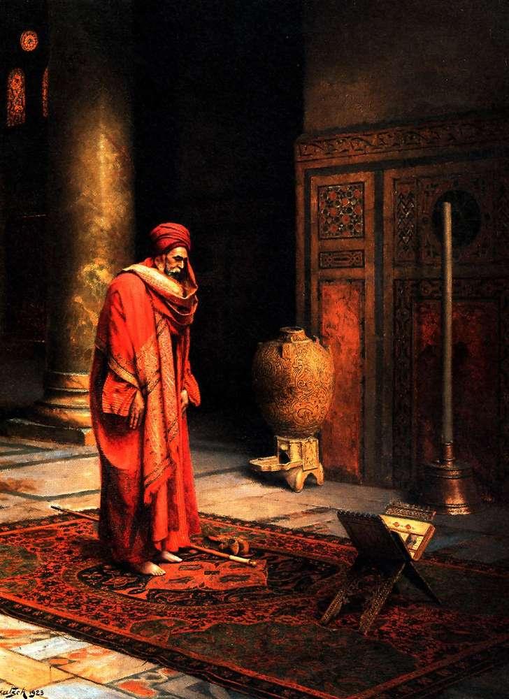 At Prayer :: Ludwig Deutsch  - scenes of Oriental life (Orientalism) in art and painting ôîòî