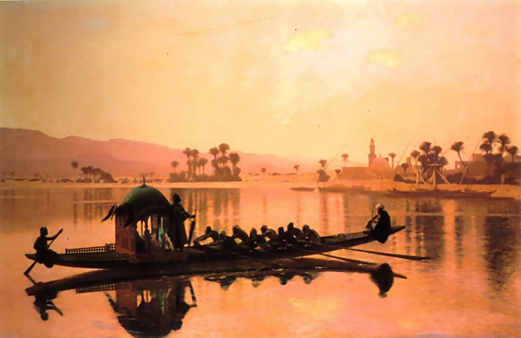 The Excursion of the Harem :: Jean-Leon Gerome - Arab women (Harem Life scenes) in art  and painting ôîòî