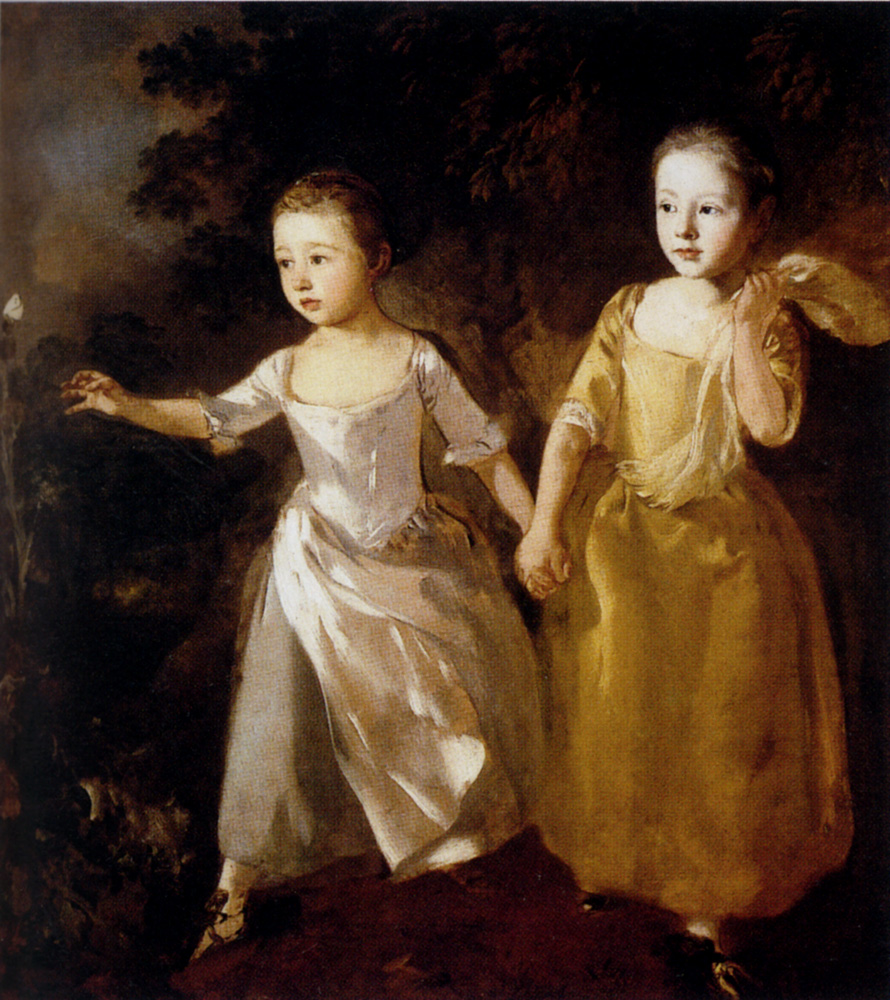Painter's Daughters :: Thomas Gainsborough - Children's portrait in art and painting ôîòî