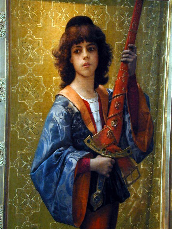 painting Paige :: Alexandre Cabanel - Children's portrait in art and painting ôîòî