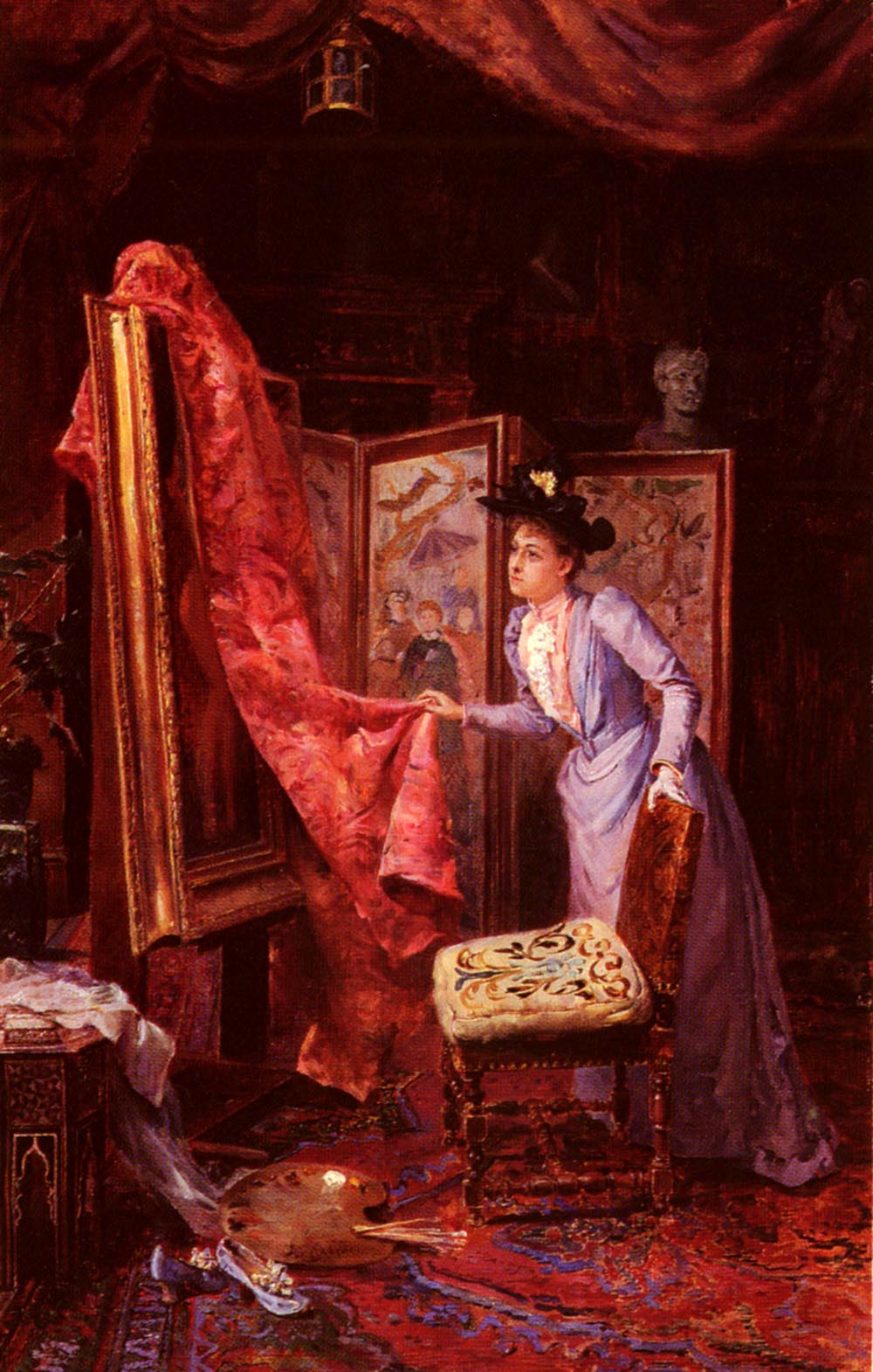 Painting studying :: Achille Vianelli - Romantic scenes in art and painting ôîòî